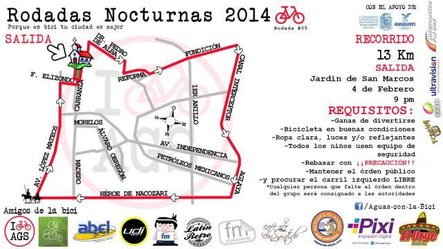 20140204 Rodada Nocturna