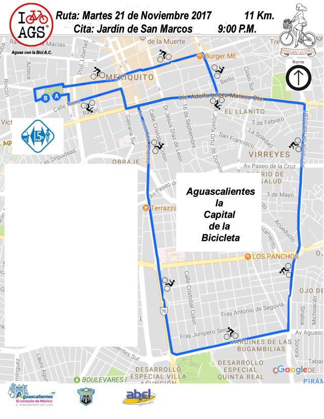 20172111patrocinadoressin calles11km